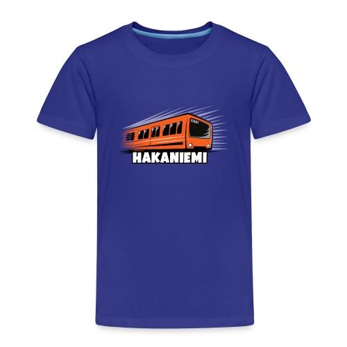 13- METRO HAKANIEMI - HELSINKI - LAHJATUOTTEET - Lasten premium t-paita