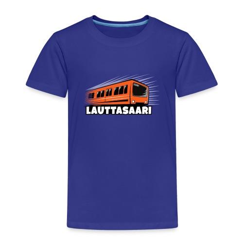 18-LAUTTASAAREN METRO - Tekstiilit ja lahjat - Lasten premium t-paita