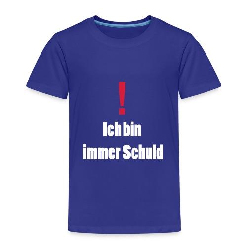 Ich bin immer Schuld - Kinder Premium T-Shirt