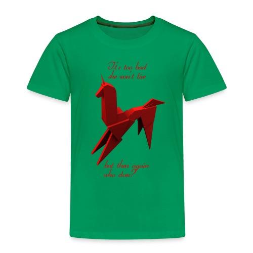UnicornioBR2 - Camiseta premium niño