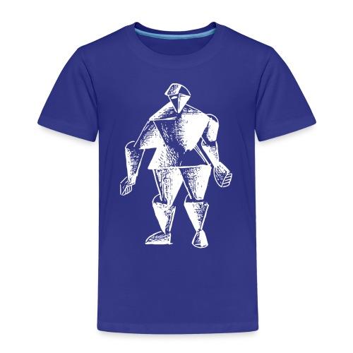 White Robot Knight - Kids' Premium T-Shirt