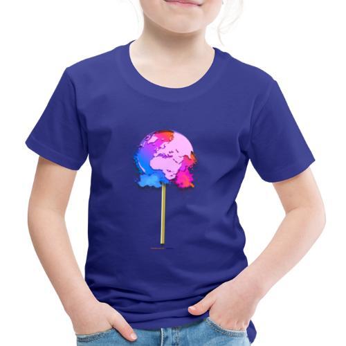 TShirt lollipop world - T-shirt Premium Enfant