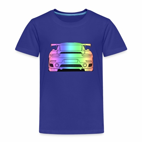 cool car rear colourful - Kids' Premium T-Shirt