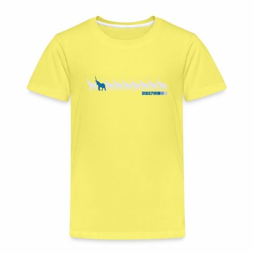 2wear Elepant street flow - Børne premium T-shirt