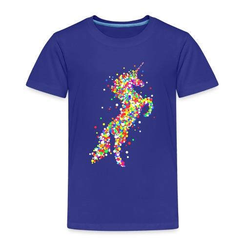 Konfetti Einhorn - Kinder Premium T-Shirt
