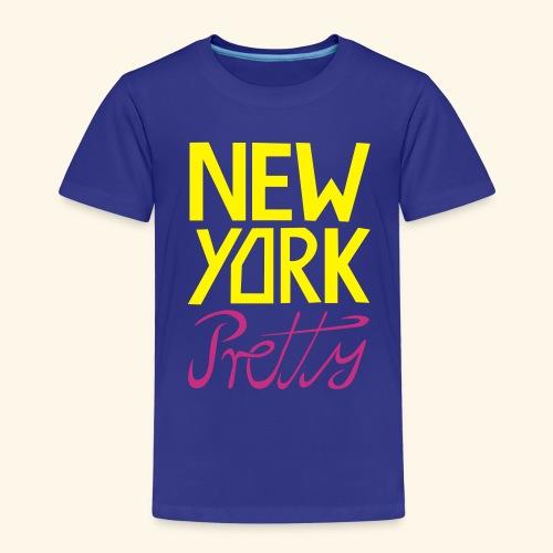 NEW YORK Pretty - Kinder Premium T-Shirt