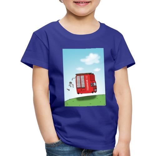 Feuerwehrwagen - Kinder Premium T-Shirt