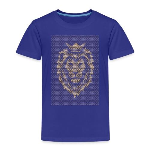 Lion Crown - Kids' Premium T-Shirt