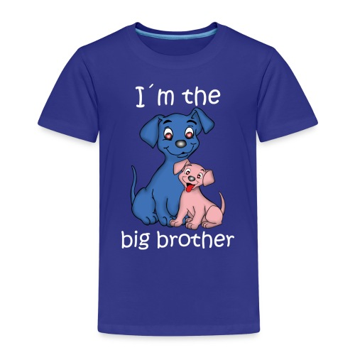 I m the Big Brother puppy - Kids' Premium T-Shirt
