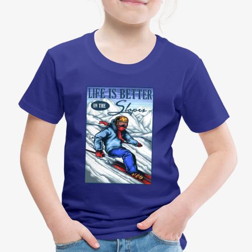 Ski Life - T-shirt Premium Enfant
