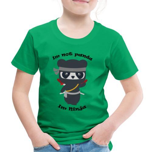 Non sono un Panda - Maglietta Premium per bambini