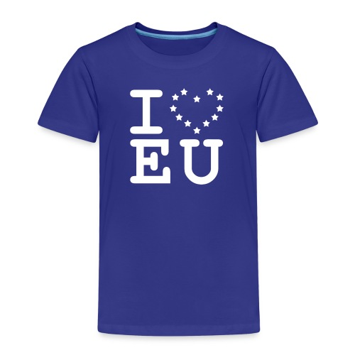 i love EU European Union Brexit - Kids' Premium T-Shirt