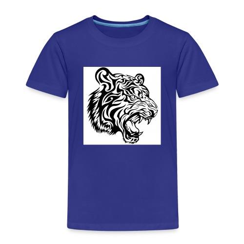 tribal tiger vector 636182 jpg - T-shirt Premium Enfant