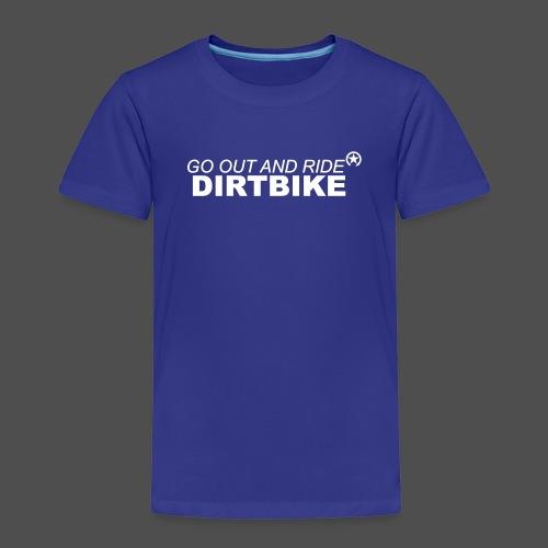 jeździć dirtbike bl - Koszulka dziecięca Premium