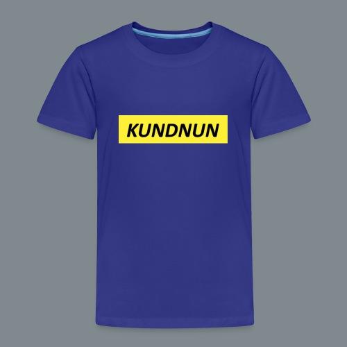 Kundnun official - Kinderen Premium T-shirt