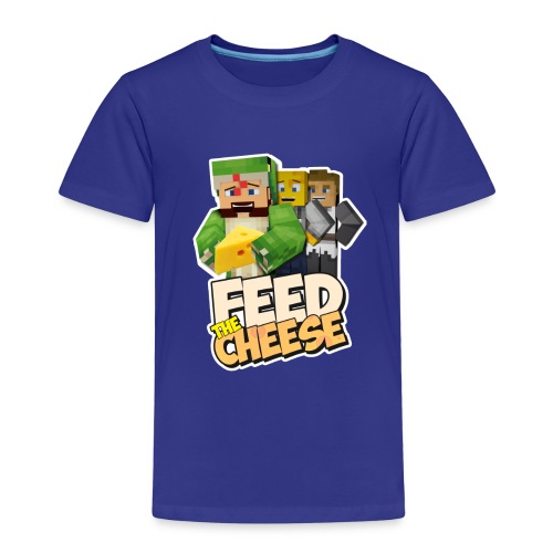 Feed The Cheese png - Kids' Premium T-Shirt