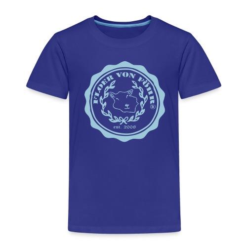 Logo Floer Oliven - Kinder Premium T-Shirt