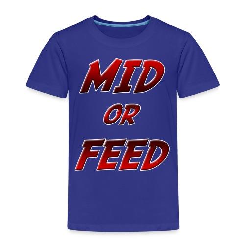 Mid or feed DONNA - Maglietta Premium per bambini