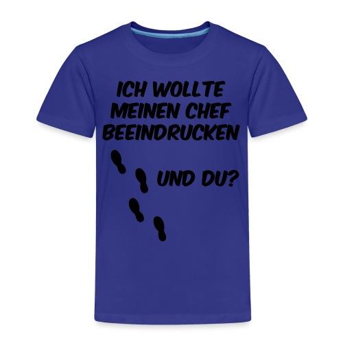Business Run - Laufshirt - Chef beeindruck - Kinder Premium T-Shirt