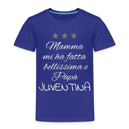 Juventina-bianca - Maglietta Premium per bambini