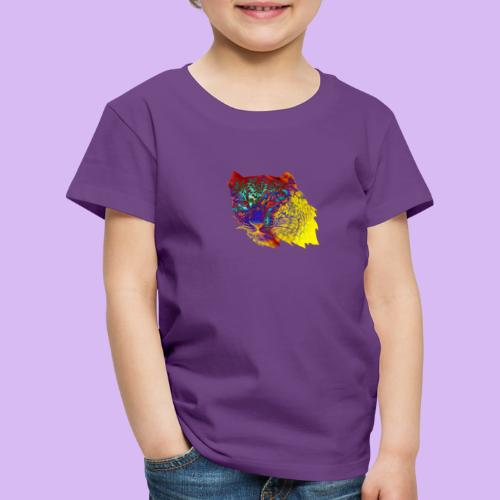 Leopardo surreale - Maglietta Premium per bambini