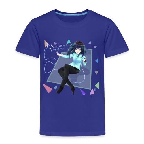 Anime form - Børne premium T-shirt