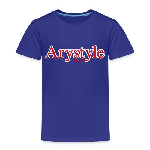 Arystyle Rouge Contour B - T-shirt Premium Enfant