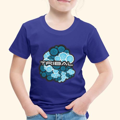TRIBAL BLUE - Kinder Premium T-Shirt