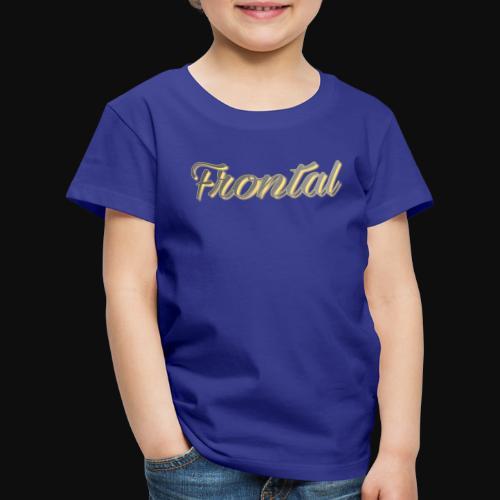 ƒяσηтαℓ (Gold ) - Kinder Premium T-Shirt