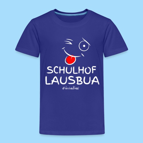 Schulhoflausbua - Kinder Premium T-Shirt