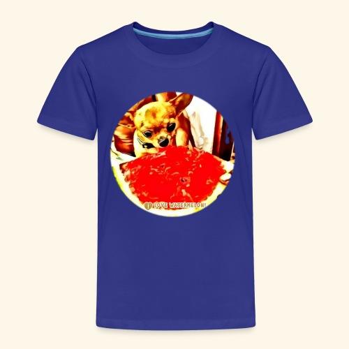 I Chihuahua amano il cocomero... e anche Zoe! - Maglietta Premium per bambini