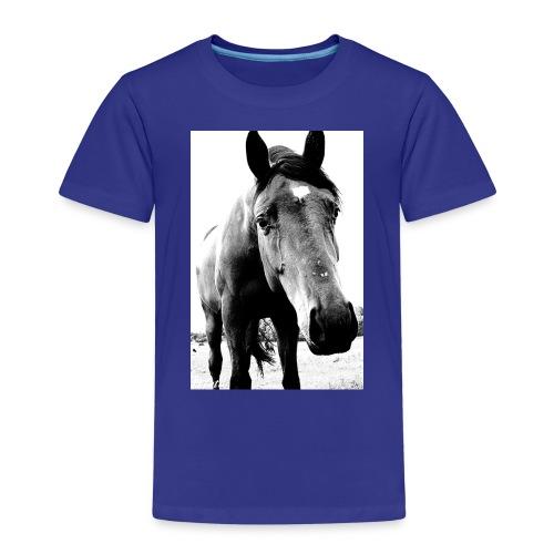 Hest - Premium T-skjorte for barn