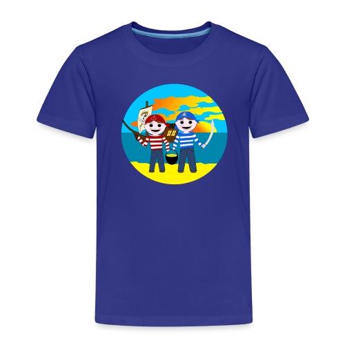 Piratenkinder-T-Shirt für Nachwuchspiraten - Kinder Premium T-Shirt