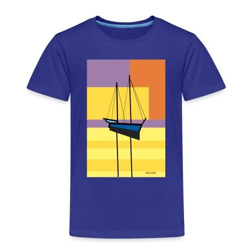 Au large, crépuscule - T-shirt Premium Enfant