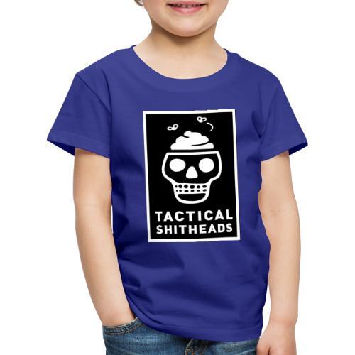 Tacshit Shitheadskull - Kinder Premium T-Shirt