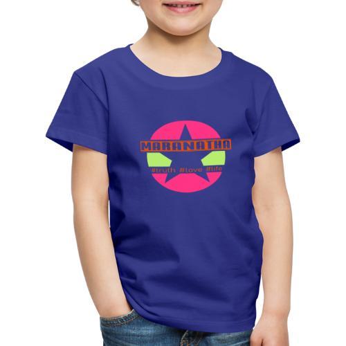 maranatha rosa-grün - Kinder Premium T-Shirt