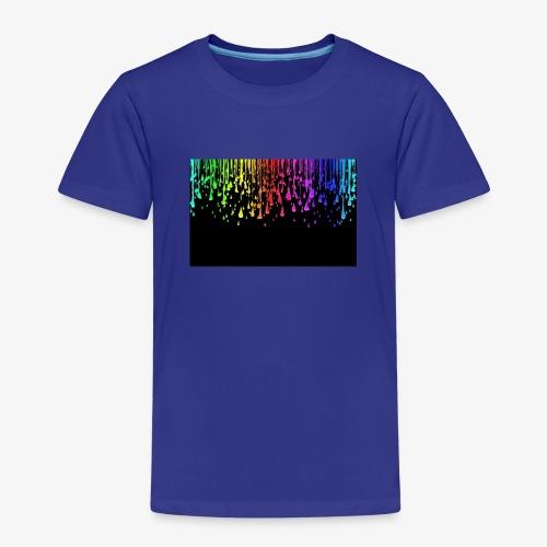 Water drops cool effect - Kids' Premium T-Shirt