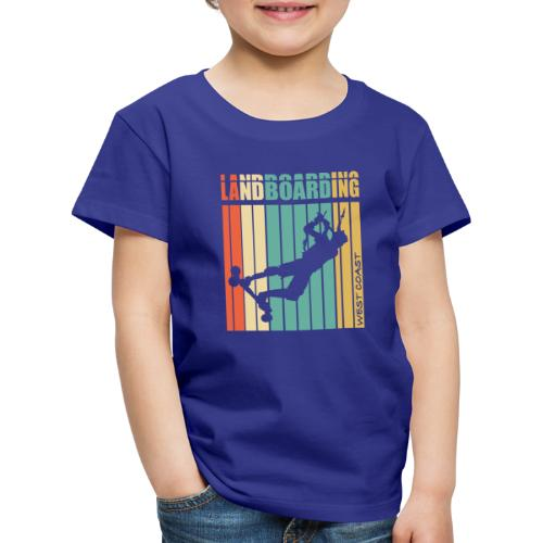 Kite Landboarding WEST COAST - T-shirt Premium Enfant