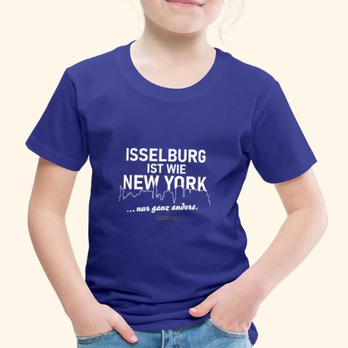Isselburg 👍 ist wie New York 😁 - Kinder Premium T-Shirt