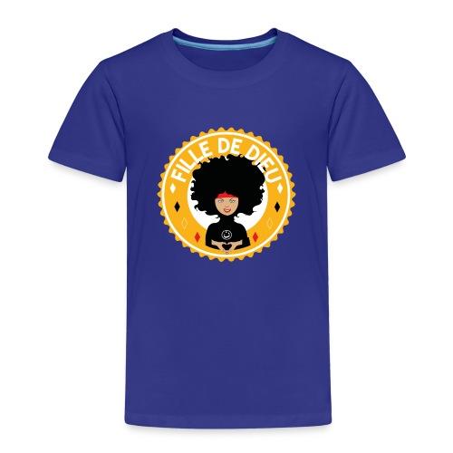 fillededieujaune - T-shirt Premium Enfant