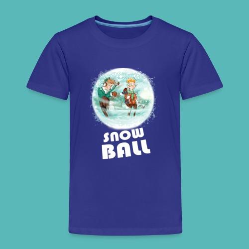 snow ball - Camiseta premium niño