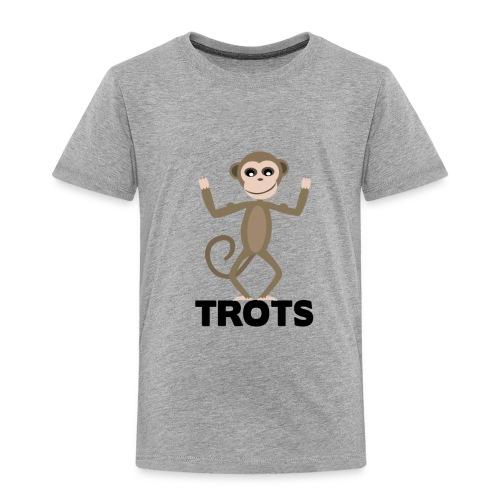 apetrots aapje wat trots is - Kinderen Premium T-shirt