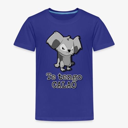 Te tengo CALAO Grey - Camiseta premium niño