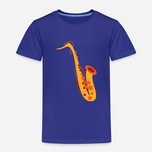 Goldenes Saxophon - Kinder Premium T-Shirt