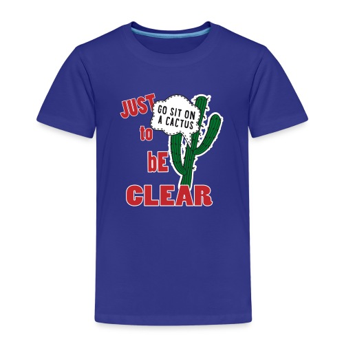 SLOGAN 5 01 - Maglietta Premium per bambini