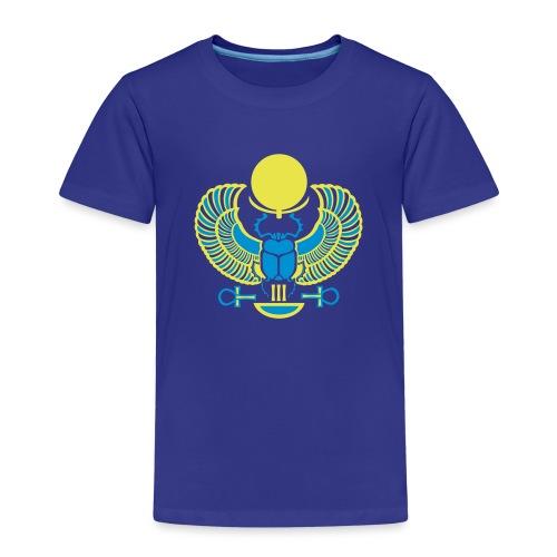 Geflügelter Skarabäus I Hieroglyphen - Kinder Premium T-Shirt
