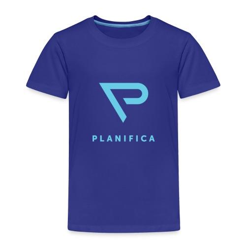 Camiseta Planifica Negra - Camiseta premium niño