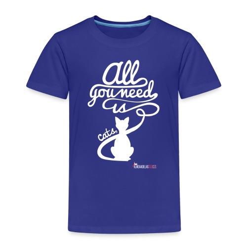 allyouneedblanco-png - Camiseta premium niño