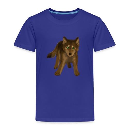 Wolf klein - Kinder Premium T-Shirt