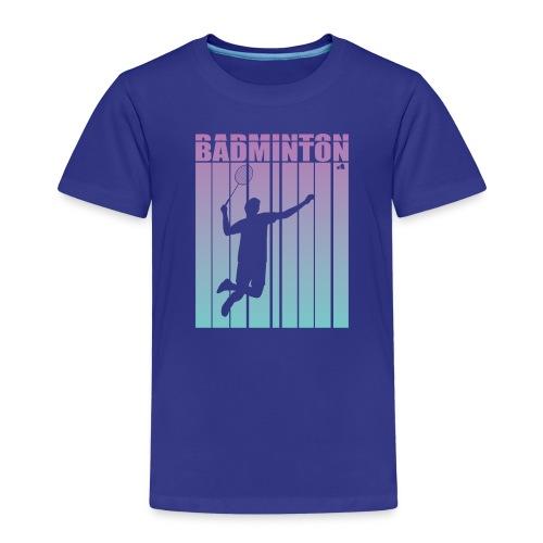 Badminton Jump Smash - Kids' Premium T-Shirt